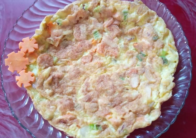 Telur dadar wortel