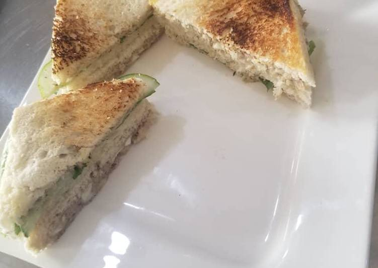 Recipe: Yummy Sardine sandwich