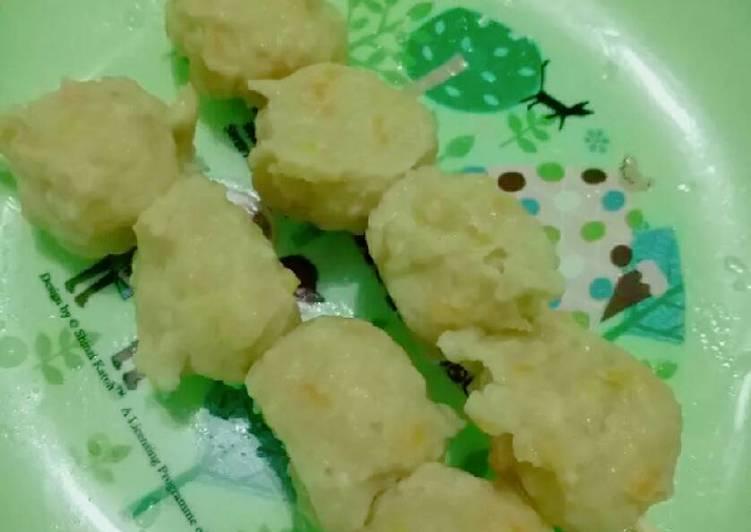 Chicken Carrot Balls (menu batita 1y+)