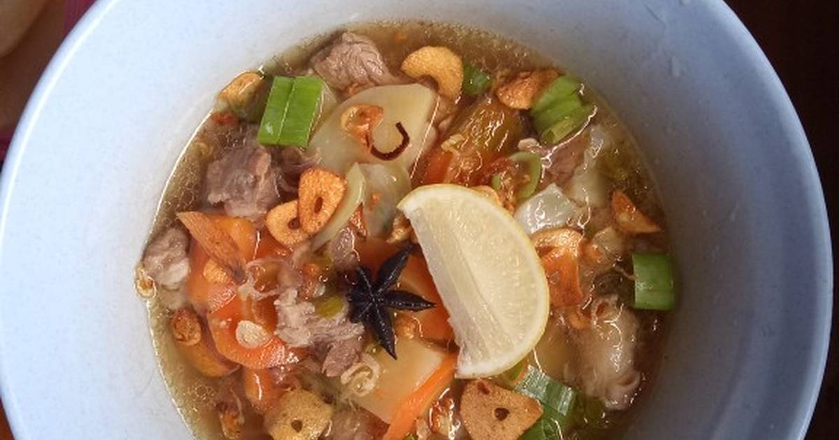 24 Resep Sup Daging Kerbau Enak Dan Sederhana Ala Rumahan Cookpad