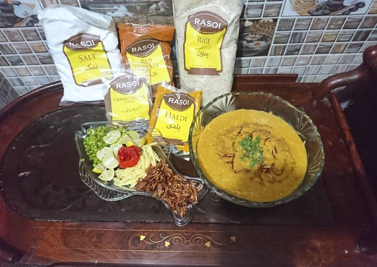 Simple Way to Prepare Most Popular Haleem deghi without any brand daba masala