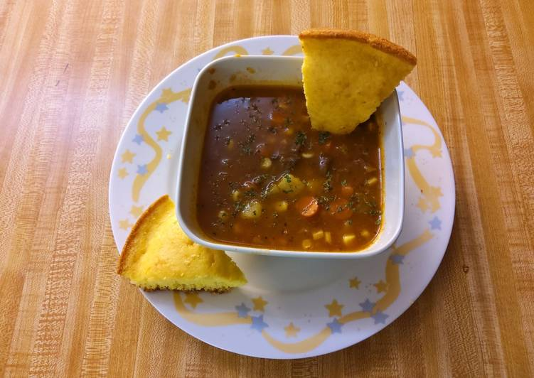 Recipe of Speedy Lee's Easy Southern Beef Vegetable Stew