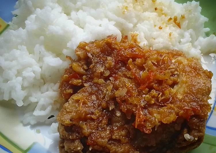 Ayam Geprek Bensu Homemade
