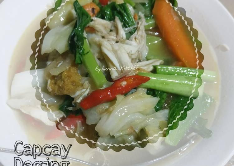 Capcay Daging Kepiting
