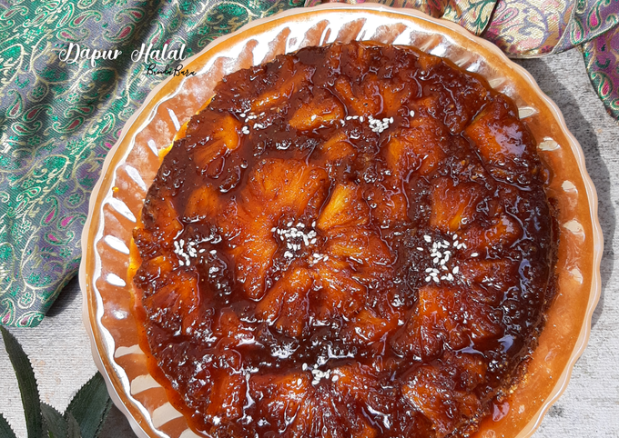 Pineapple Upside Down Cake Tiwul