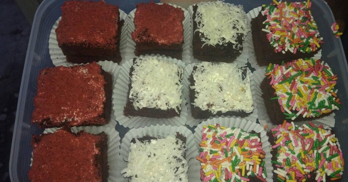 Resep Brownies Potong Aneka Topping Oleh Yuliani S Pawon Cookpad