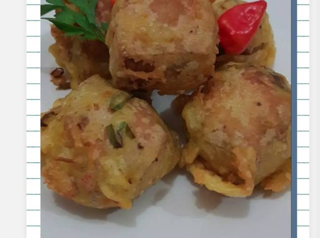 Resep Tahu Isi Goreng Hot Jeletot Oleh Saelsafitria Cookpad