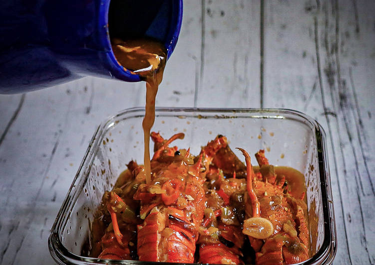 Resep Lobster Saus Padang Spesial