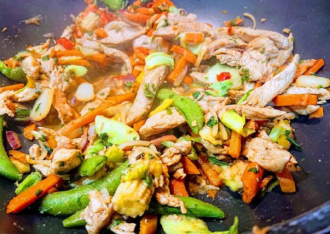 Fast Five-Spice Chicken