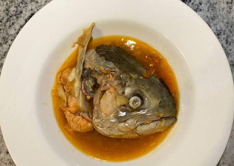 Salmon Head Soup Asam Pedas