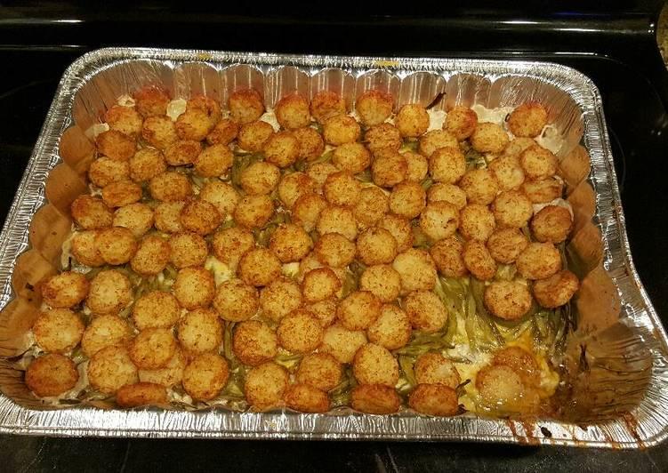 Recipe: Yummy Tater Tot Casserole