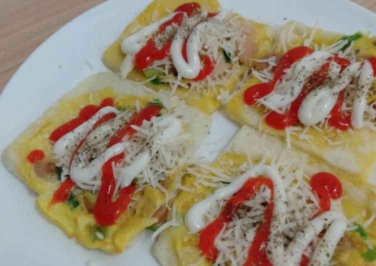 Resep Roti John Rumahan Sederhana oleh hazella galuh - Cookpad