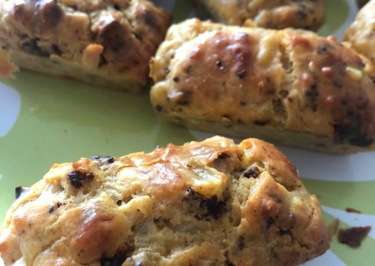 recette Cake au chorizo le délicieux