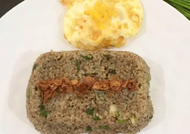Nasi Goreng Kuah Rawon