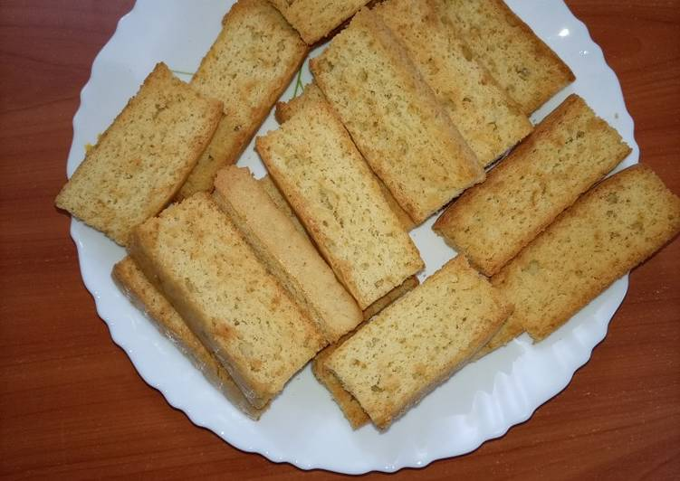 Recipe of Perfect Cake Rusks
