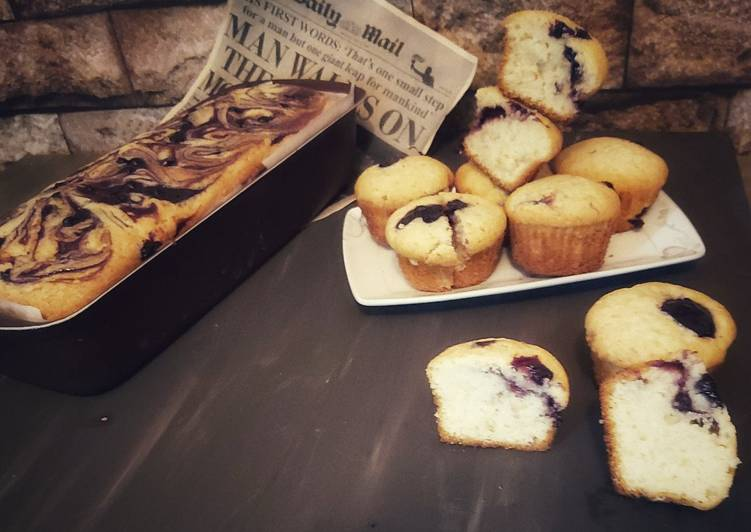Recipe of Perfect Blueberry Muffins