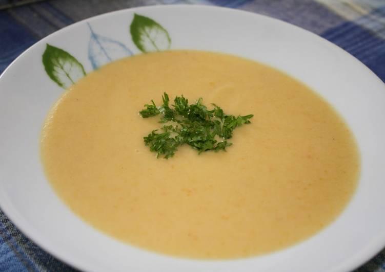 Les Meilleures Recettes de Potage de chou-fleur au cheddar