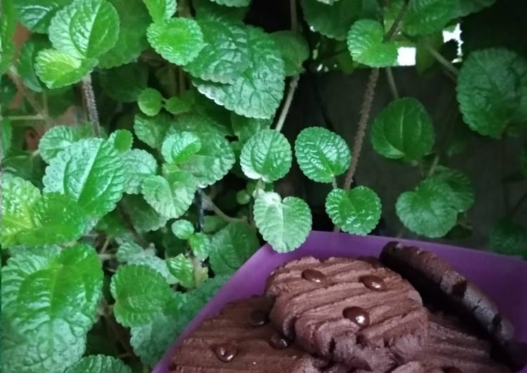 Resep Choco cookies tanpa mixer, Enak Banget