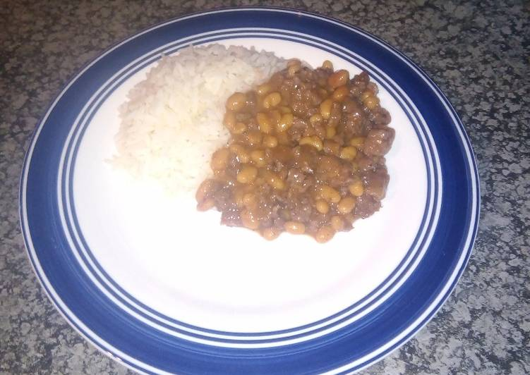 30 Minute Step-by-Step Guide to Prepare Quick Beef mince and rice