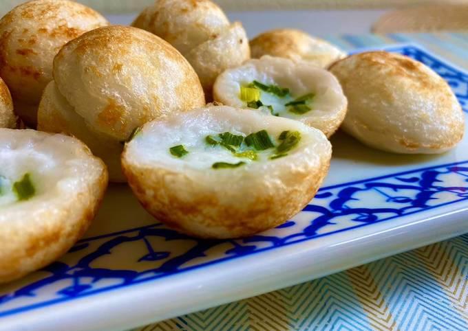 สูตร ขนมครก โดย แม่บ้านต่างแดน usa 🇺🇸 - Cookpad