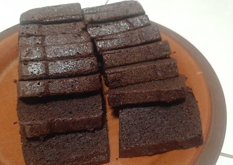 Brownies kukus super moist
