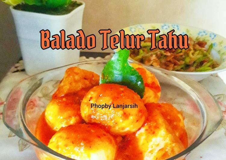 Balado Telur Tahu