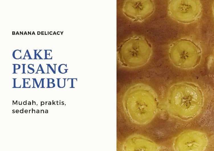 Cake pisang lembut - cookandrecipe.com