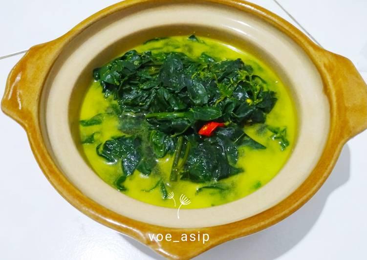 Taghuak Cangkup Manis (Sayur Katu)