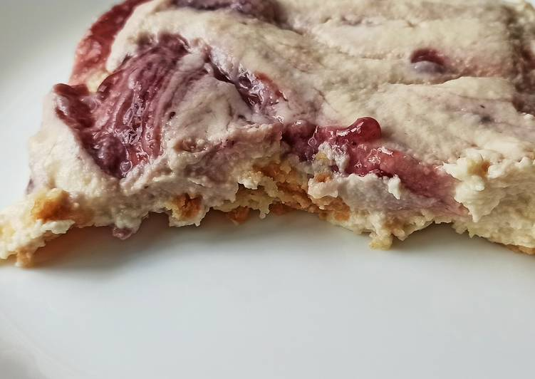 Tarta rápida de yogur griego