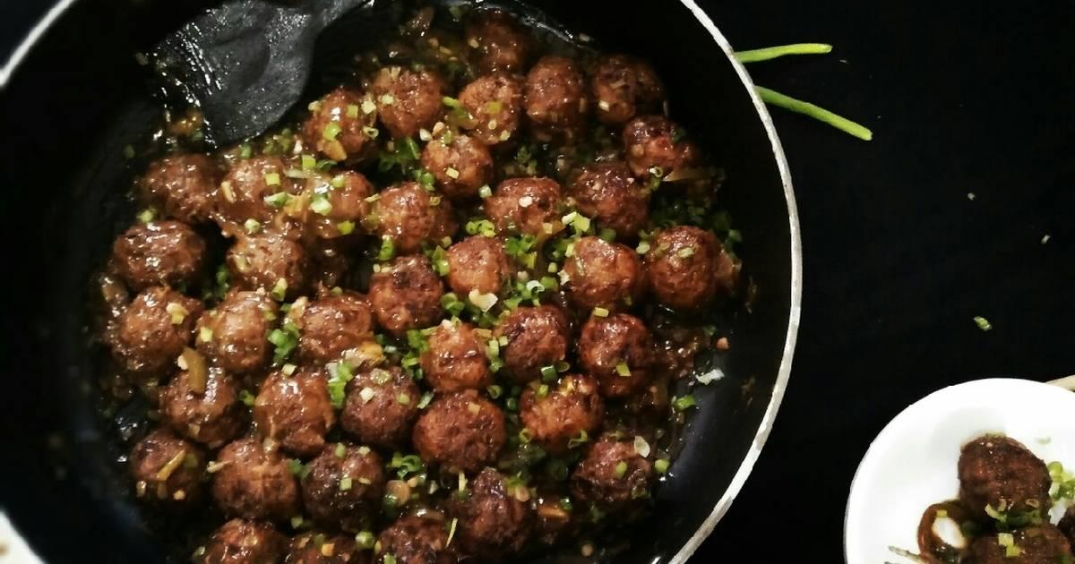 Cabbage manchurian Recipe by Safiya khan - Cookpad