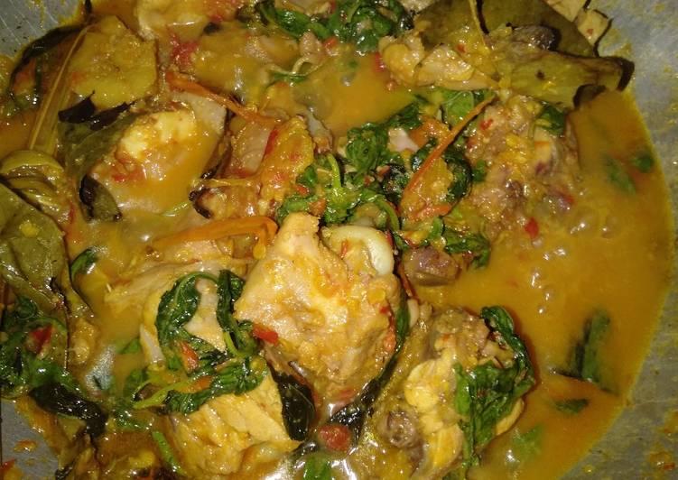 Resep Ayam woku kemangi murah