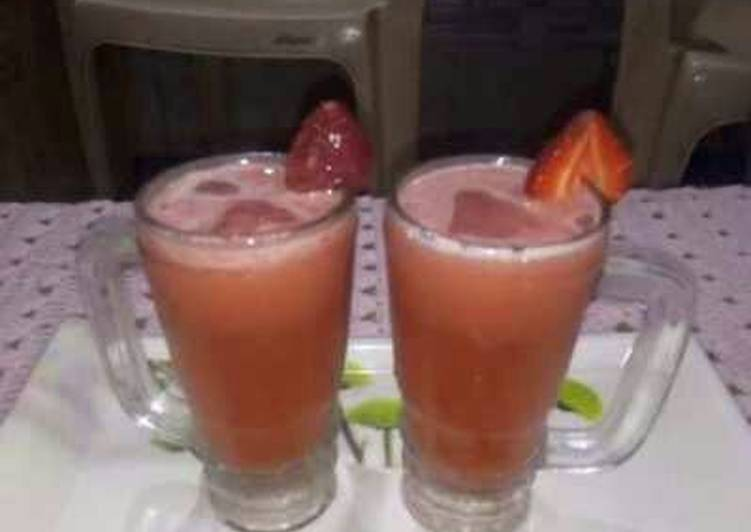 Stawberry juice