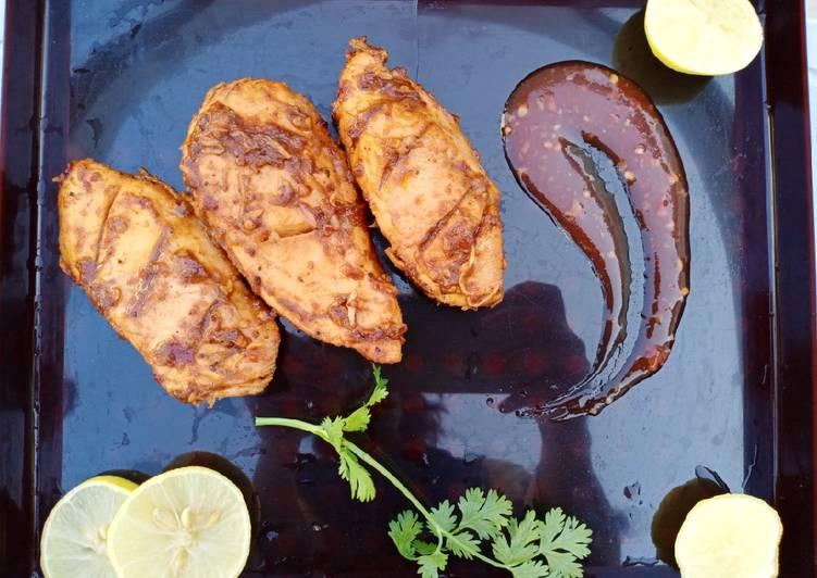 Smoky Bbq Chicken Tikka