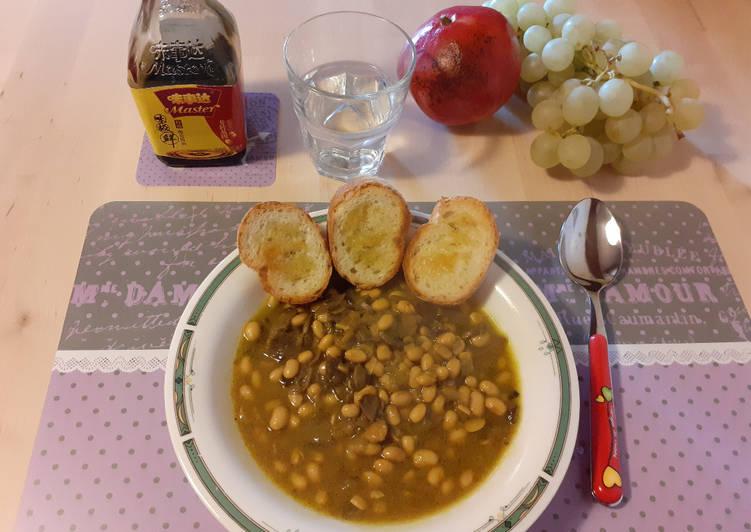 Ricetta Zuppa speziata di soia