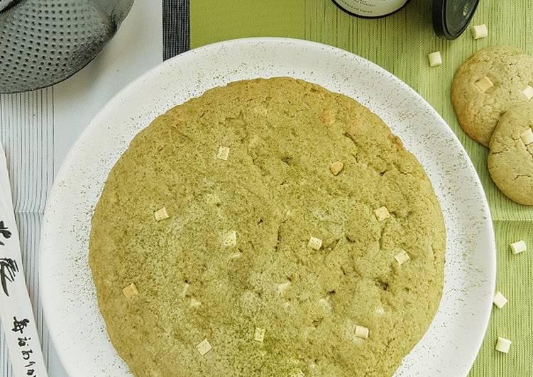Le moyen le plus simple de Cuire Parfait Cookie géant au thé matcha