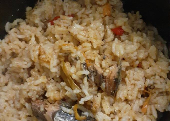 Nasi sarden ala anak kost