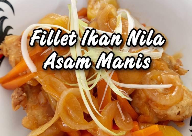 Fillet Ikan Nila Asam Manis