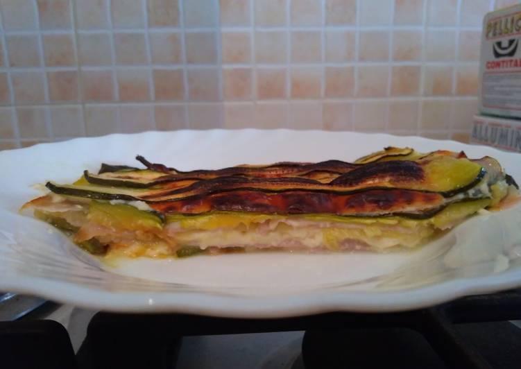 Recipe: Tasty Zucchini lasagna