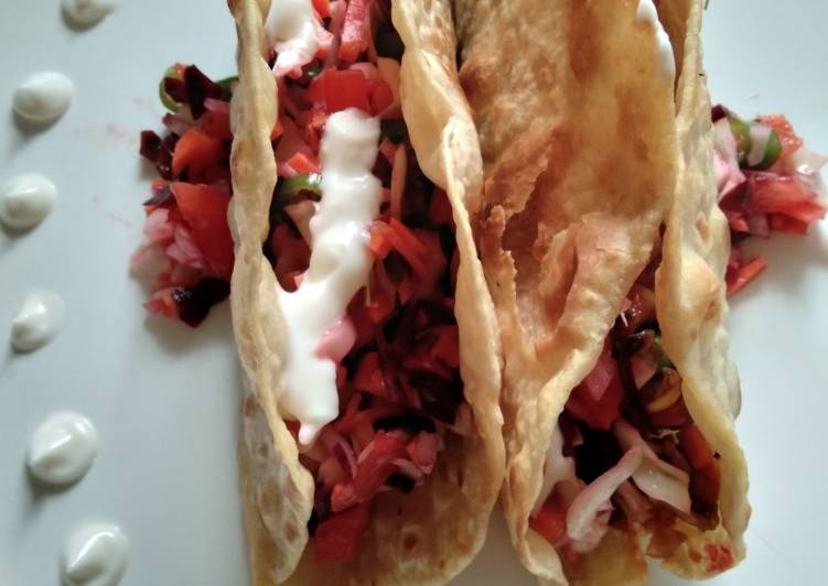 Easiest Way to Prepare Appetizing Home-made tacos