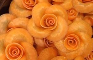 ?Cách làm hoa hồng từ củ cà rốt