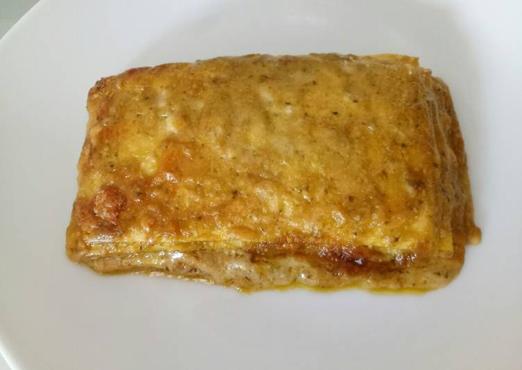 Recipe: Tasty Pesto and pecorino lasagne