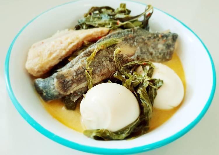 Gulai Daun Singkong Ikan Lele