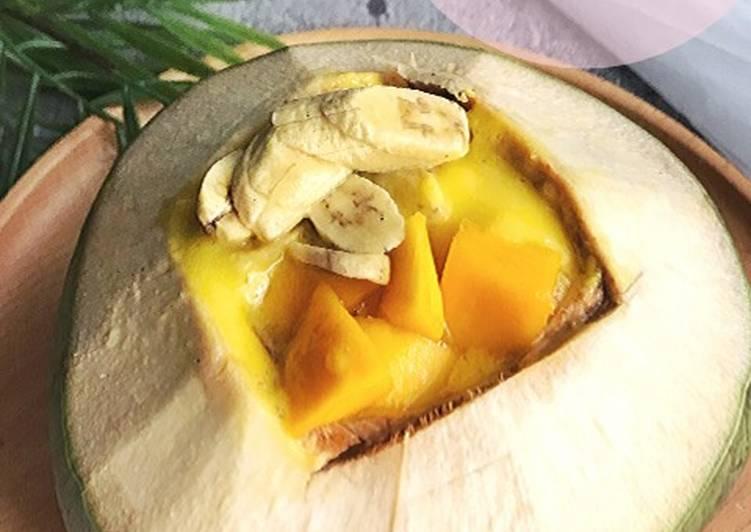 Tropical Coconut Smoothie - resepipouler.com