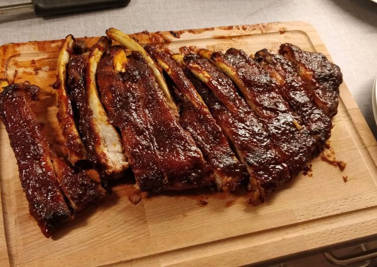 Oven Bbq Ribs Recipe By Patrick Huynh Cookpad