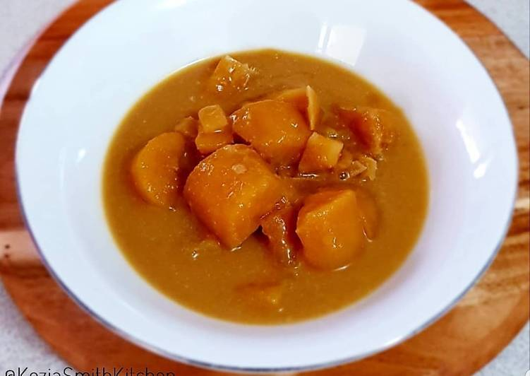 Kolak Labu Kuning (Sweet Pumkin Soup)