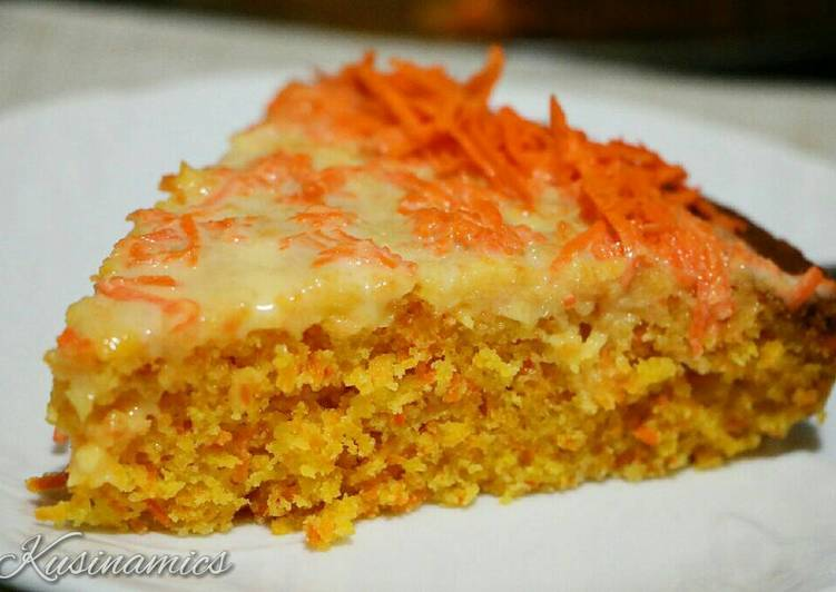 Carrot Cake with Butter & cream