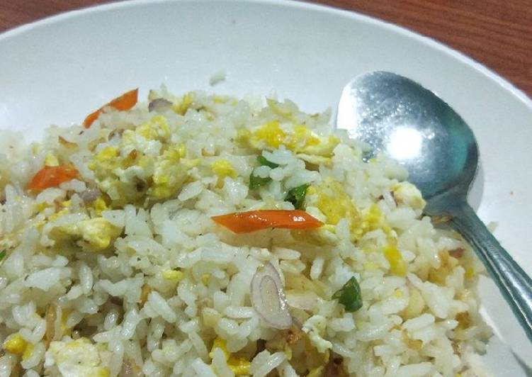Resep Nasi Goreng Simpel (cocok untuk anak kos) Paling Top
