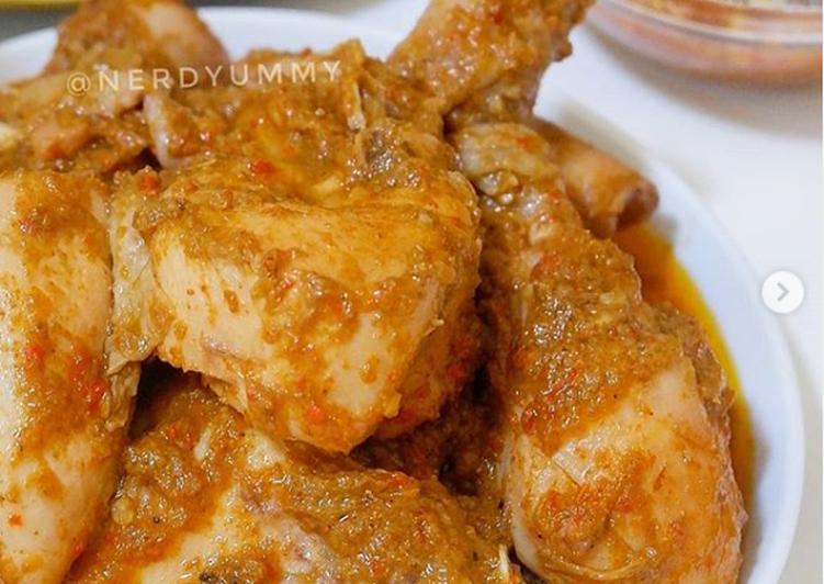 Rendang Ayam by @nerdyummy