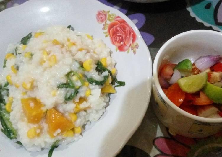 Bubur Manado & sambal dabu2