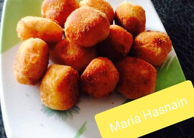 Potato Corn Balls #ramadankitayari #fastfood